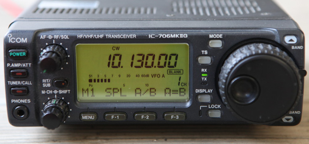 Icom IC706MKIIg self-oscillation problems